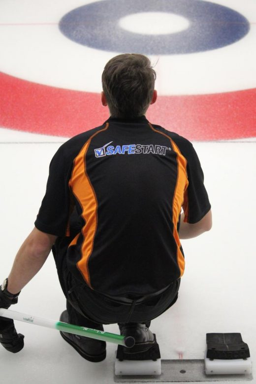 SafeStart sponsors the Team Walker men's curling team