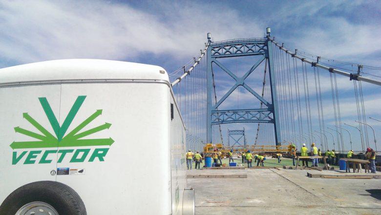 Vector Bridge Construction