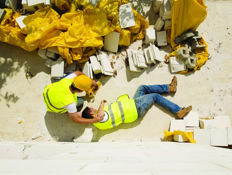 Slips, trips and falls are a leading source of injury