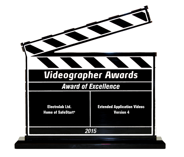 SafeStart wins an Award of Excellence from the Videographer Awards