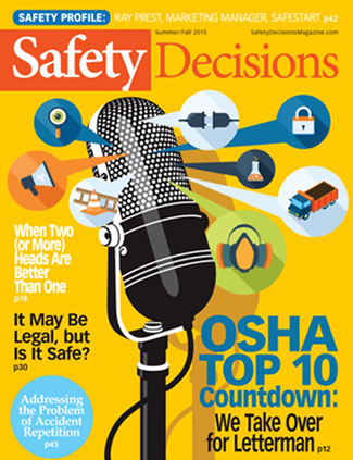 Safety Decisions magazine