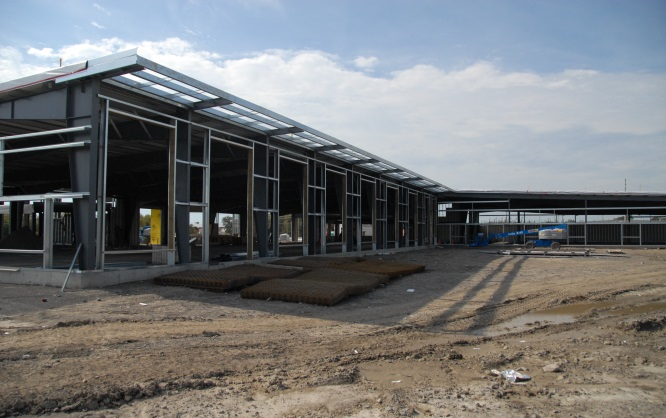 Electrolab's new building under construction