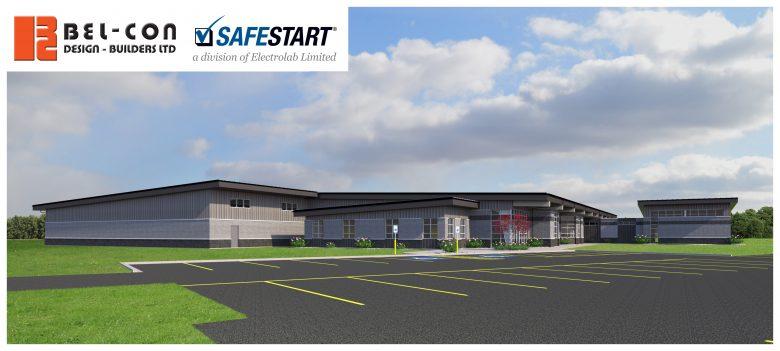 A rendering of SafeStart's new building