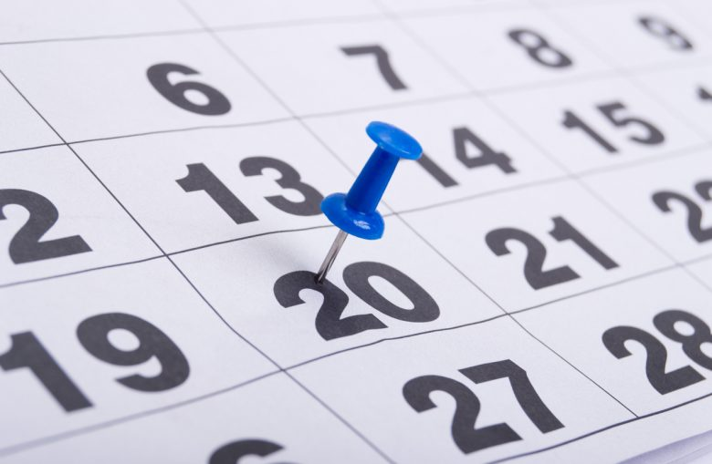 Selecting the best date to schedule safety training