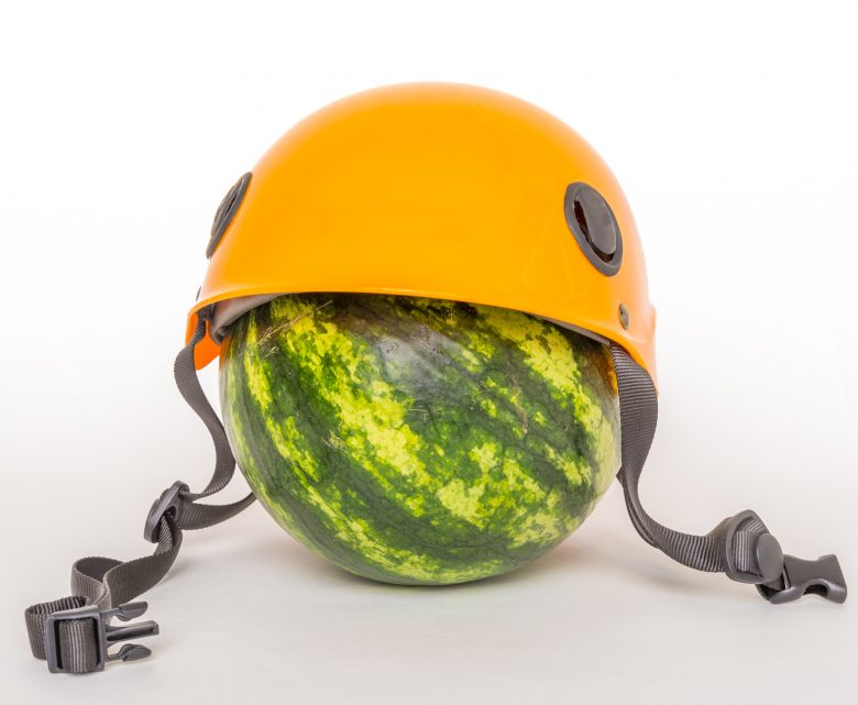 Safety matters, protect your melon