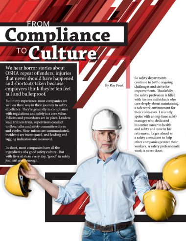 From Compliance to Culture Cover