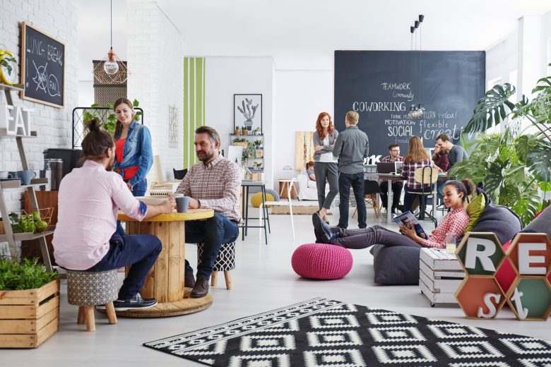 New concept for open office design
