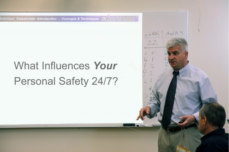 Don Wilson speaking about 24/7 safety