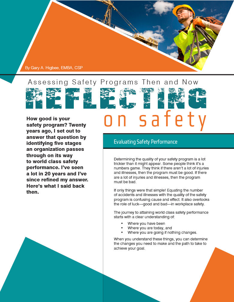 Reflecting on Safety