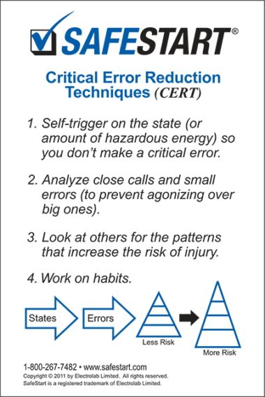 Critical Error Reduction Techniques