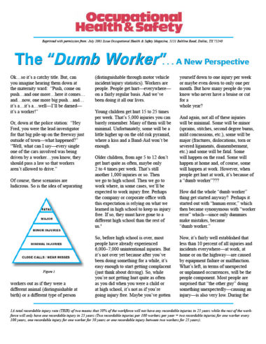 The Dumb Worker Cover