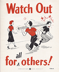 NSC 1950s Poster