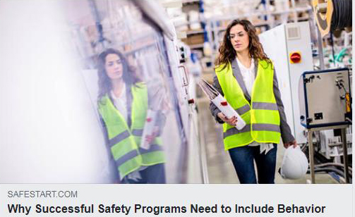 Why successful safety programs need to include behavior