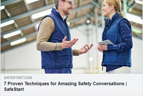 Proven techniques for amazing safety conversations