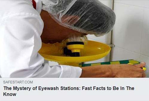 The Mystery of Eyewash Stations: Fast Facts to Be In The Know