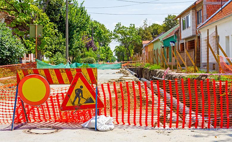 Environmental hazards road construction