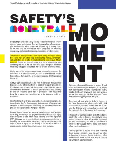 Safety's Moneyball Moment
