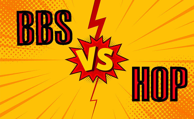 BBS vs HOP