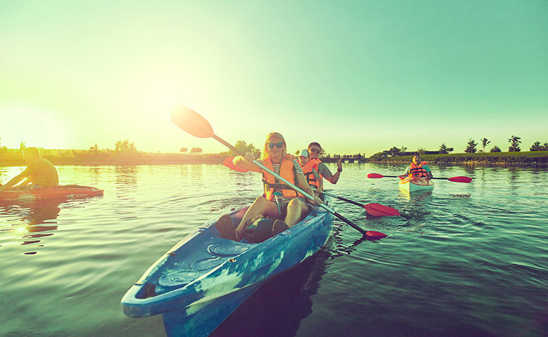 Summer safety on the water with family