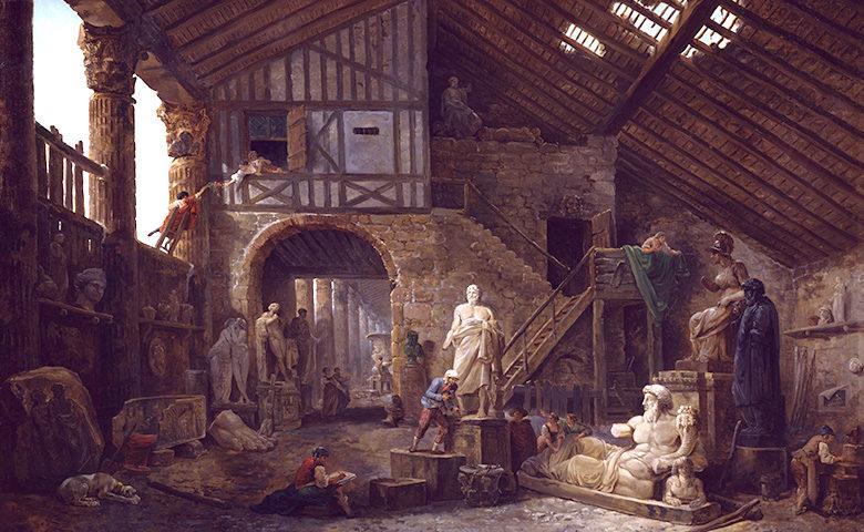 Studio of an Antiquities Restorer