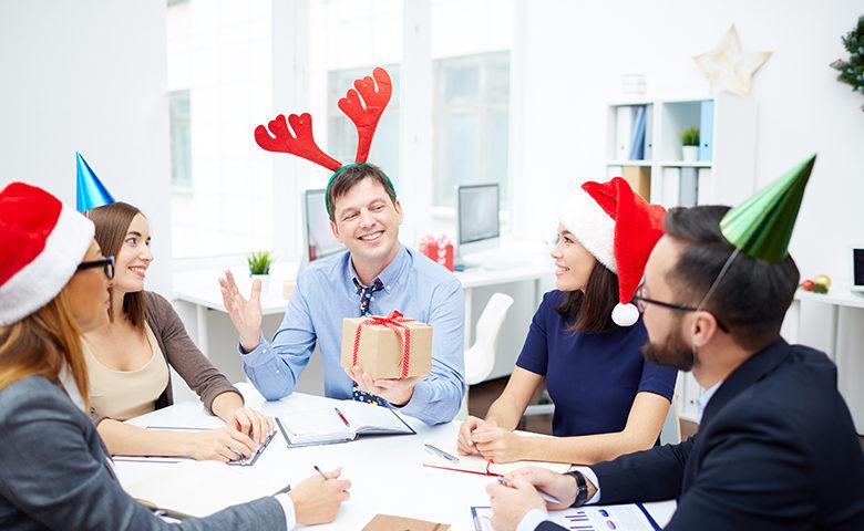 Holiday themed toolbox talk