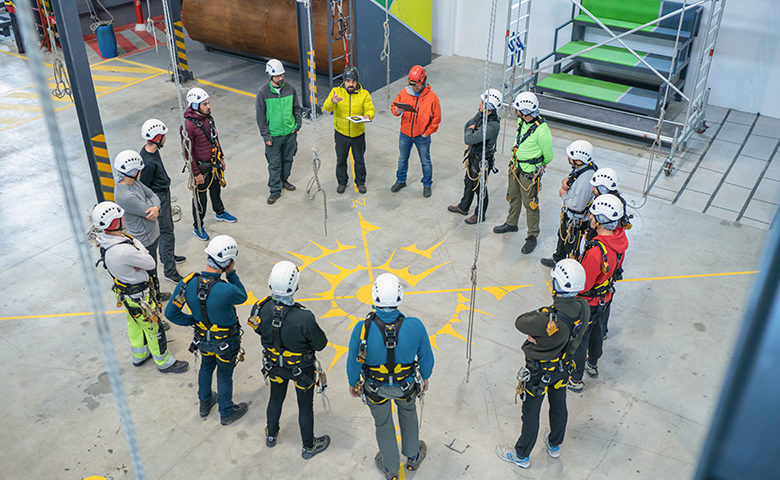 Group safety training